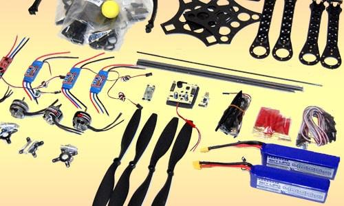 Quadcopter Materials